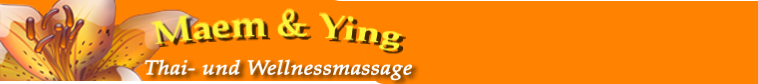 MaemYing Thaimassage und Wellnessmassage